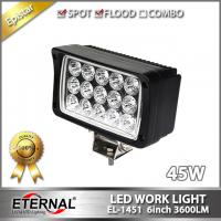45W 4x6 headlight tractor Boat truck trailer agriculture vehicles construction heavy duty high power led work light