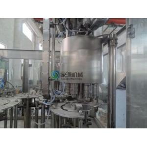 China Soda Automatic Bottle Filling Machine 6000bph , Isobaric Filling Machine on sale