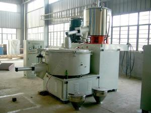 China 4 MM Stainless Steel Pvc Compounding Mixer With Automatic Transferring Mixing System on sale