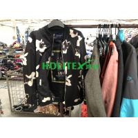 Colorful Winter Mens Used Clothing , American Style Second Hand Mens Jackets