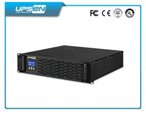 China 220V / 230V / 240Vac Double Conversion Rack Mountable UPS Power Supply 1K - 10Kva with Bypass on sale