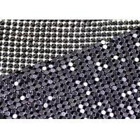 Plain Weave Metallic Silk Fabric 3mm Shiny Cloth Fashion Accesory