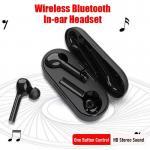 JS18 Touchable 5.0 Bluetooth Earphone Headset Deep Bass Wireless Earphones HD Stereo Headphones