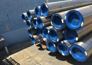 China Ship Building Seamless Carbon Steel Pipe , ASTM A106 Grade B Pipe Hot Rolled / Cold Drawn on sale