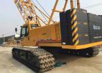 85 ton Jib 12t Hydraulic Crawler Crane , mobile hydraulic crane XGC85