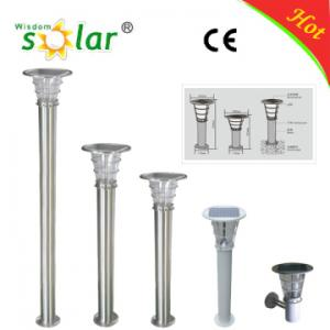China Simple and decent LED solar lights for lawn with high quality on sale