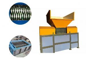 China High Power 4 Shaft Shredder , Industrial Waste Shredder Equipment Low Noise on sale