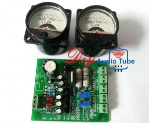 China SO-39 500VU Analog VU Meter , Vintage Amp Parts Stereo Driver PCB Board For HIFI DIY on sale