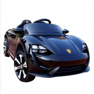 China Rechargeable Black color Kids Toy car 6V4ah*2 Electric Ride On Car on sale