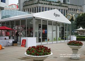 China 10m Width Outdoor Event Tents With Glass Walls For High Class Events on sale