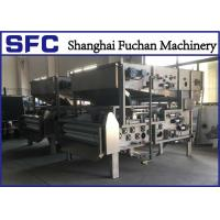 China SUS 304 Belt Filter Press Dewatering Equipment With Continuous Auto Running on sale