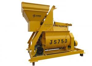 China JS750 Twin Shaft Concrete Mixer Machine , Benford Winget Volumetric Concrete Mixer on sale