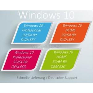 Quality Professional 64 Bit DVD Microsoft Windows Software with Product OEM Key , New Sealed for sale