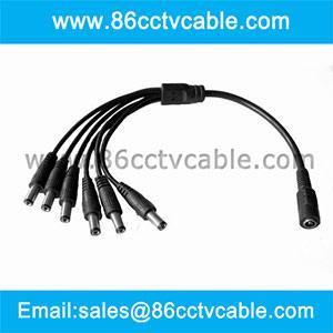 China DC power splitter, DC Power cord, DC cable on sale