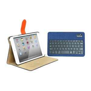 China Slim PU leather Creative bluetooth wireless keyboard Case For 10 inch Tablet on sale