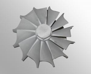 China 投資のガス タービンの車輪/精密消失型鋳造法の部品に掃除機をかけて下さい on sale