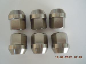 China Ti64 GR5 TiGr5  titanium racing lug nuts,Titanium Auto Wheel Lug Nuts,titanium lug bolt on sale