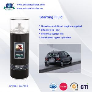 China Low Temperature Engine Starter Fluid / Quick Starting Fluid Spray Car Care Products on sale