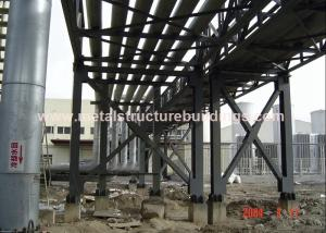 China Bolt Joint Steel Frame Structure Pipe Rack Modularization Foundation For Water Supply on sale