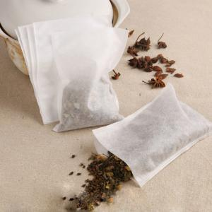 China high quality packaging paper/heat seal disposable tea filter bag on sale