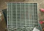 Industrial Galvanized Steel Walkway Grating Hot Galvanized Strong Impact Resistance
