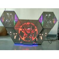 China P5 Full Color LED DJ Booth Adjustable Brightness Multi Screens For Bar Club on sale