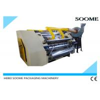 China Corrugated Cardboard Flute Forming Machine Corrugation Maker Single Facer on sale
