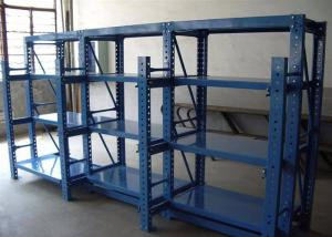 China Folding Heavy Duty Storage Rack , Heavy Duty Industrial Shelving 4 / Customized Layer on sale