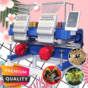 China HO1502H embroidery machine multi functions computerized embroidery machine better than brother pe-770 embroidery machine on sale
