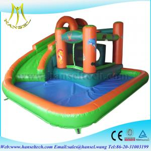 China Hansel Happy inflatable slide/ cheap inflatable slides for sale/ inflatable slide for kids on sale