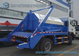 China Dongfeng 6 Ton - 8 Ton Garbage Collection Truck Swing Arm With Left Hand Drive on sale