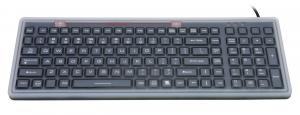 China JH-MB106 Industrial Flexible USB Keyboard with Membrane made of silicone on sale