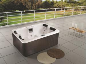 China Monalisa M-3332 famous brand SPA hot tub adults SPA tub sexy outdoor SPA tub creative intelligent SPA hot tub outdoor on sale