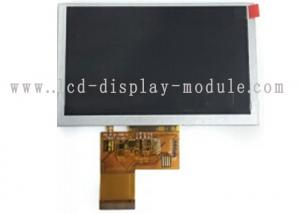 China Hight brightness 5 inch TFT LCD Module with 12 white LED 480x272 resolution on sale