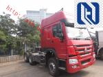 HOWO A7 16 Speeds Transmission Prime Mover Vehicle 3 Seats High Configuration, Tractor Truck with LHD/RHD, 10Wheel/