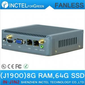 China J1900 Mini PC Nano Computer ITX support Wake on LAN PXE Watchdog 3G GPIO 8G RAM 64G SSD on sale