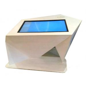China Customized White Windows10 43'' Infrared Stand Up Computer Kiosk ,Convenient Digital Query Machine on sale