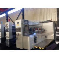 Alloy Steel Computer Automatic flexo Printing Slotting Machine  /  Carton Box Making Machine