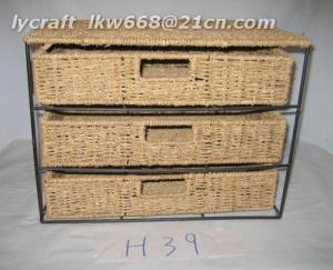 China Seagrass Storage Basket on sale