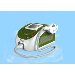 Quality Mini Acne Clearance Hair / Pigmentation / Vascular Removal Facial Rejuvenation  SHR Machine for sale