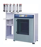China manual clamping paint shaker and manual paint dispenser combined on sale