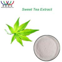 Pure White Natural Splant Extract Powder , Sugar Substitute Sweet Green Tea Leaf Extract