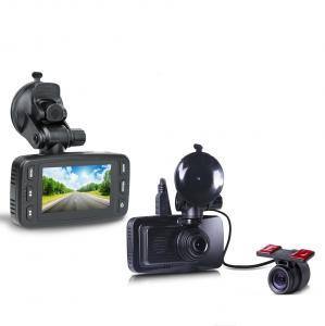 China car dvr gps navigator 2.7inch LCD ambarella a7 car dvr 2 camera video driving recorder da on sale
