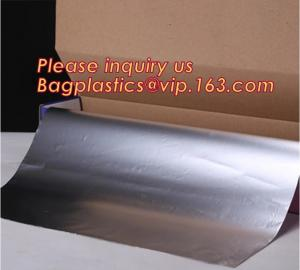 China 25sqft 300mm wide 8011 Manufacturer Household Aluminium Foil Rolls,Household Alunimnum Foil Wrapping Paper Food Grade Al on sale
