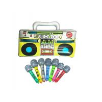 "Colorful 16"" Inflatable Kids Toys Microphones Speaker & Musical Instruments"