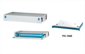 China 24 Pore Fiber Optic Distribution Panel Termination Frame With Vandal Resistant Function YH1018 on sale