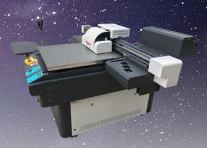 China Electronic Inkjet Printing Machine A1 Size 3 Head UV Flatbed Printer Machine on sale