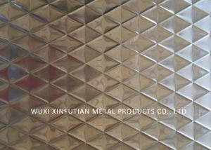 Gold Wall Embossed Stainless Steel Surface Finish For