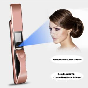 China Face Recognition Intelligent Door Lock Home And Office Anti Theft Use on sale