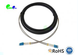 China LC To LC Duplex Outdoor CPRI Optic Fiber Patch Cable OS1 / OS2 / OM1 / OM2 /OM3 For FTTA on sale